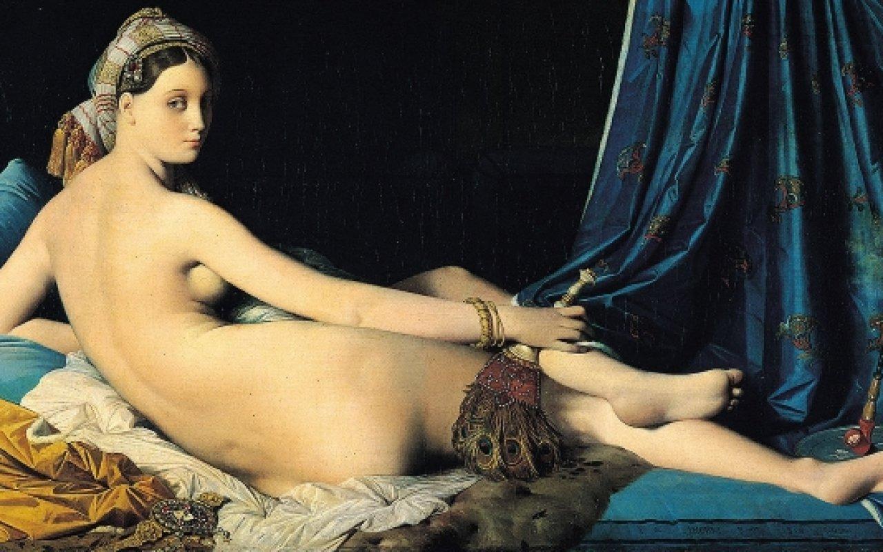 la grande odalisque Ingres 1814