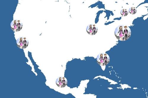 J&L Monde world tours north america