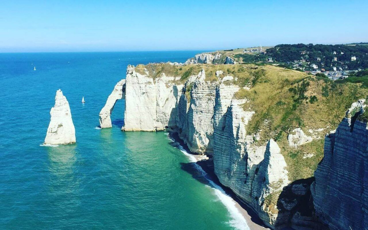 visites en France Etretat Normandie