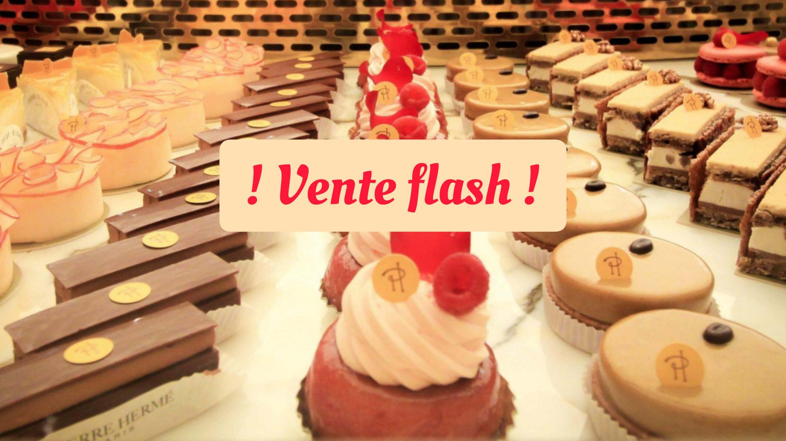 vente flash noel paris sucré chocolat patisserie