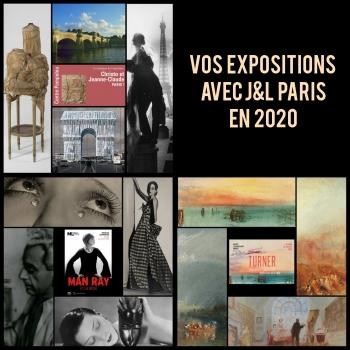 expositions parisiennes 2020 J&L PARIS