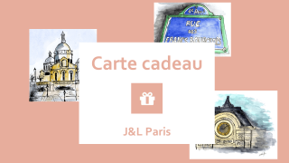 J&L Paris carte cadeau noel