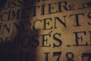 paris macabre cimetière des innocents